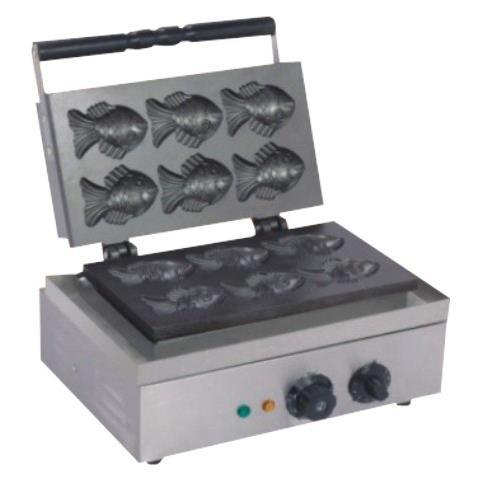 Вафельница для приготовления печенья « рыбки» STARFOOD, на 6 ячеек happyshef.by