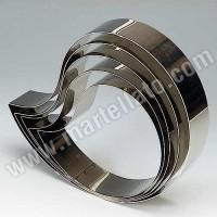 Форма кондитерская «Запятая» 34,5х24 см h 4 см, нержав. сталь