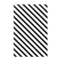 """Полоска пленки кондитерской для декора """"Полосы"""" рулон h25мм, 305м"""
