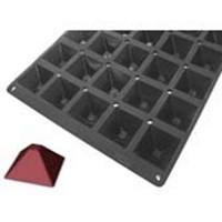 Форма силик. д/зам. и вып. «Мульфлекс Про Пирамида-мини» 68х68мм h34мм, 57мл, 35 ячеек