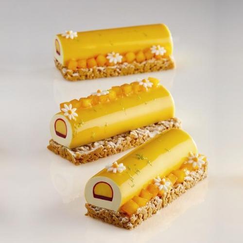 """Форма силиконовая PAVOFLEX для пирож. 3D """"Цилиндр"""" d18мм L560мм, 124мл, 9 ячеек"""
