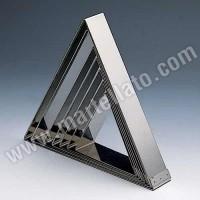 Форма кондитерская «Треугольник» 17,5х20 см h 5 см, нержав. сталь
