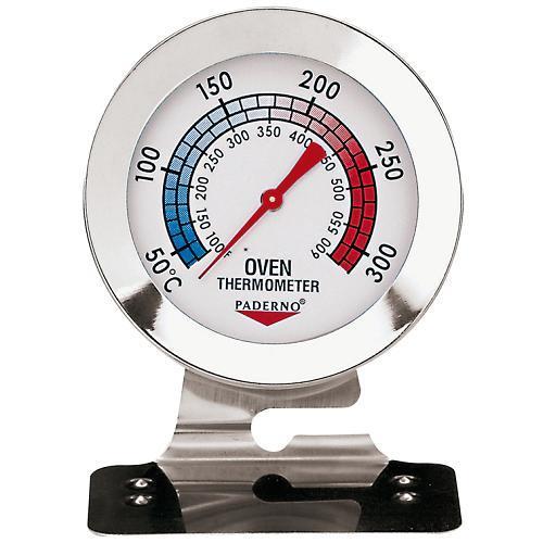Термометр для печи +38 +316С, шкала 10С, нерж.ст. HappyShef.by