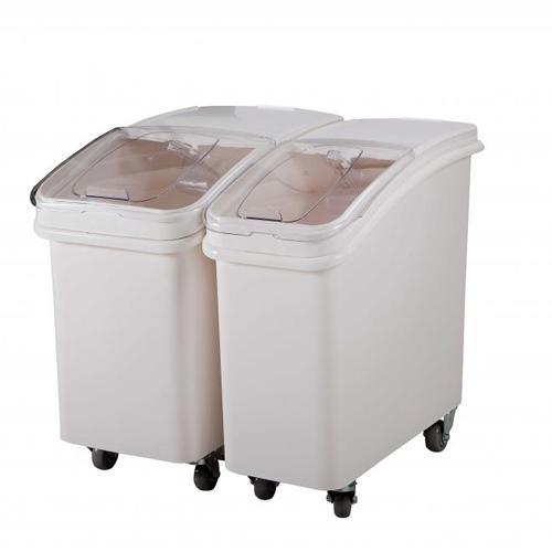 Контейнер для сыпучих продуктов 102л, 75х40см h71см, цвет белый, серия Jiwins