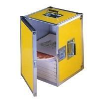 Ящик для перевозки пиццы 35x35см h48см, алюм.