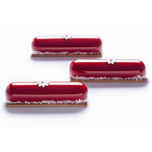 """Форма силиконовая PAVOFLEX для пирож. 3D """"Софи"""" 128х30мм h28мм, 90мл, 14 ячеек"""