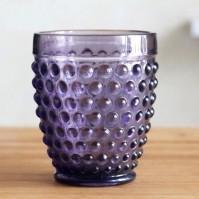 Стакан для воды «Berry» 260мл h105мм, стекло, цвет фиолетовый