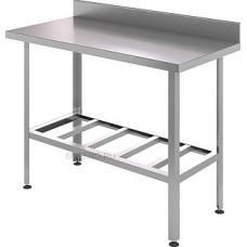 Стол производственный с бортом СБ6/6-Р 600*600*850