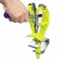 Ножеточка для поддержания лезвия в рабочем состоянии, крепится к столу, желтая HappyShef.by