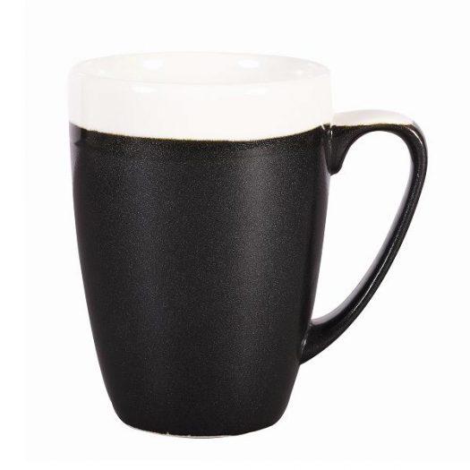 Кружка 340мл Monochome, цвет Onyx Black