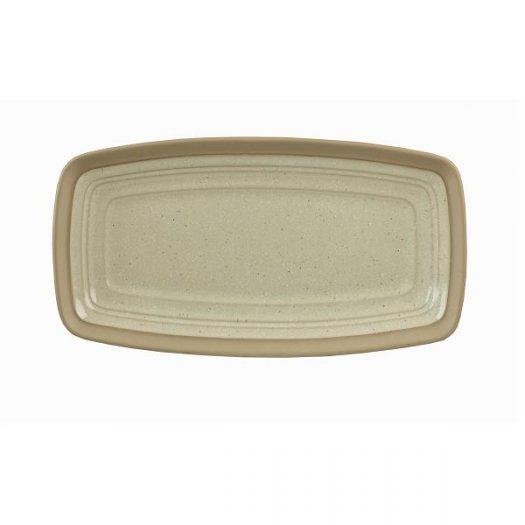 Блюдо прямоугольное 29х15см, керамика, Igneous×