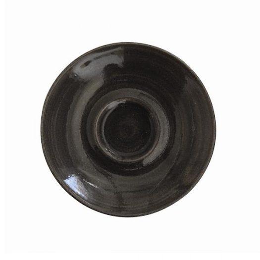 Блюдце d11,8см Monochome, цвет Iron Black