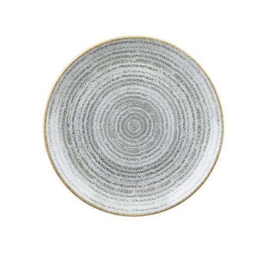 Тарелка мелкая 21,7см, без борта, цвет Stone Grey, Studio Prints×