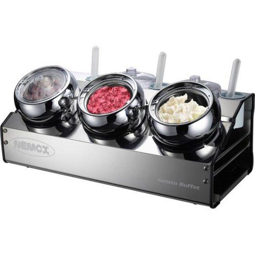 Витрина для мороженого NEMOX FANTASIA BUFFET LUX без подключения к электричеству×