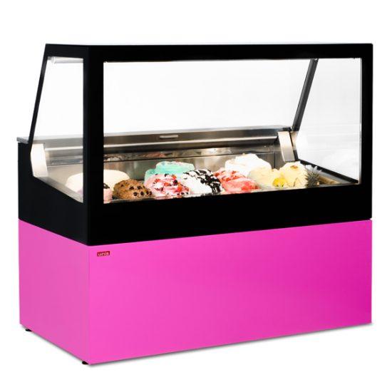 Витрина для мороженого UNIS Cube II Ice Cream 1500