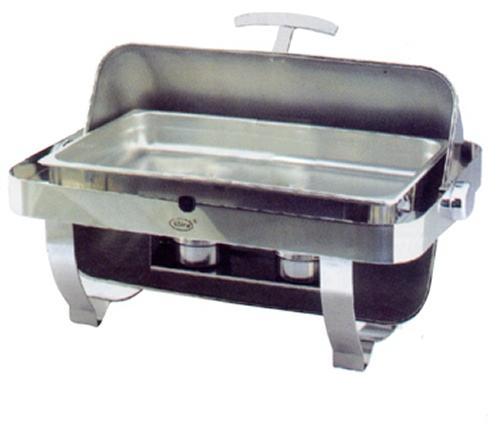 Мармит настольный (чефиндиш) GN1/1, ZC301-1, с крышкой Roll Top, 680х490х310мм, s|s